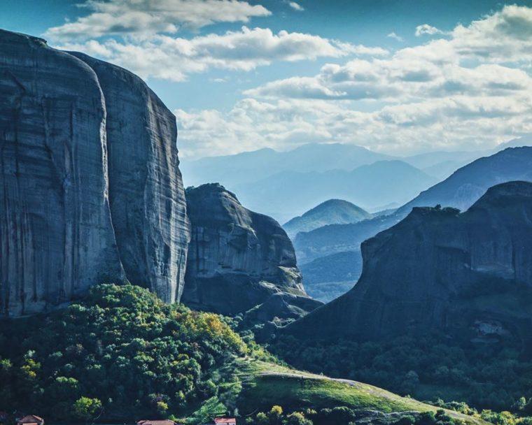 kouzelné siluety této neskutečné krajiny